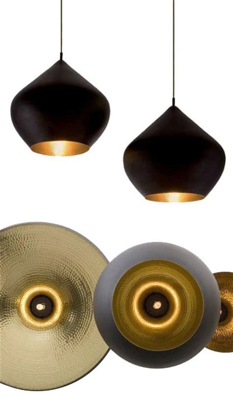 Beat Pendant Light Stout Large Black/Copper from Tom Dixon
