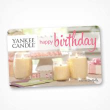 Yankee Candle Gift Card Balance - gifts gift cards yankee candle