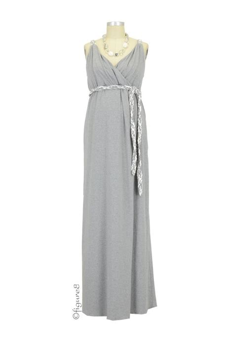 Dress Sofia Grey Maxi sofia maxi maternity dress in grey by everly grey
