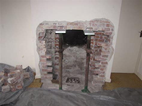 Chimney Decoration Ideas the chimney opening is enlarged my fourwalls