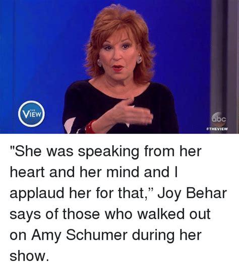 Amy Schumer Meme - 25 best memes about joy behar joy behar memes