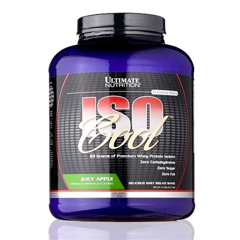 Suplemen Ultimate Nutrition iso cool ultimate nutrition suplemen fitness whey protein isolate