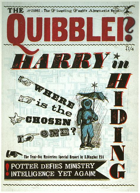 printable quibbler cover the quibbler harry potter hogwarts and luna lovegood