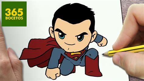 imagenes de halloween kawaii como dibujar superman kawaii paso a paso dibujos kawaii
