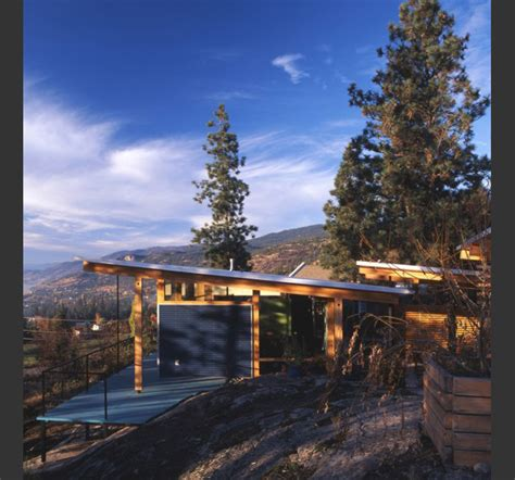 Cabins In The Rocky Mountains by Modern Cabin In Canadian Rocky Mountains