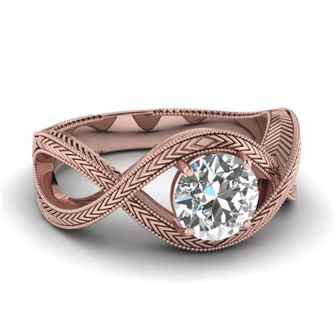 knotted  ring fascinating diamonds