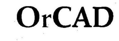 orcad layout logo orcad trademark of cadence design systems inc serial