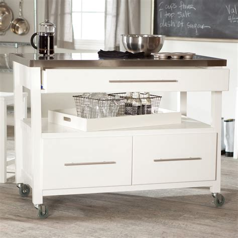 a kitchen island best kitchen island on casters homesfeed