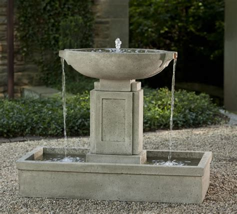 outdoor water outdoor fountains and