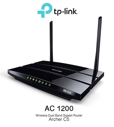Tp Link Ac1200 Wireless tp link ac1200 wireless dual band gigabit router archer c5 wifi n300 unifi maxis