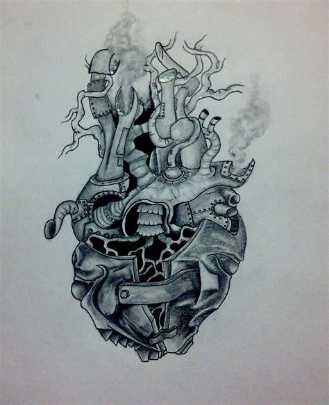 steampunk heart artofscottk