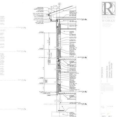 detail wall section revit section details images