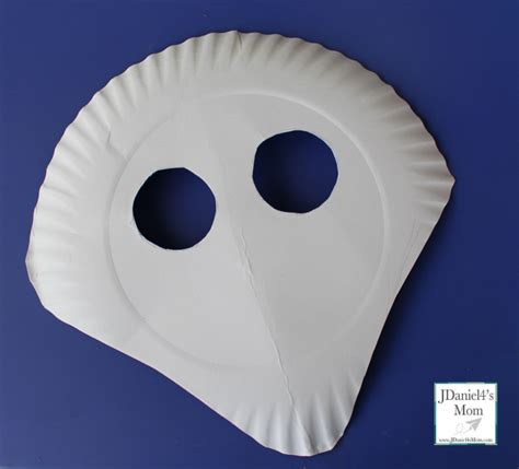 Paper Mask For - paper plate shark mask with mask template