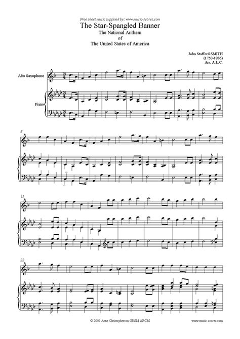 sax house music free download the star spangled banner alto sax sheet music by john stafford smith alto sax