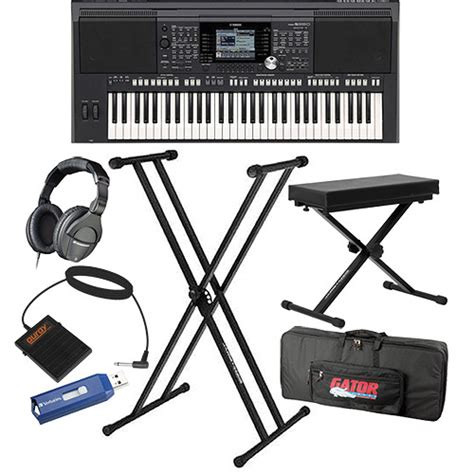 Keyboard Yamaha Psr S950 Tahun Yamaha Psr S950 Value Bundle B H Photo