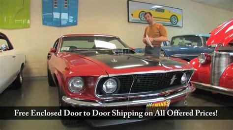 1969 ford mustang mach 1 tony flemings ultimate garage