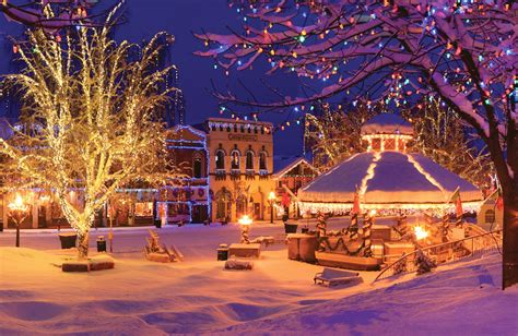 15 christmas obsessed towns