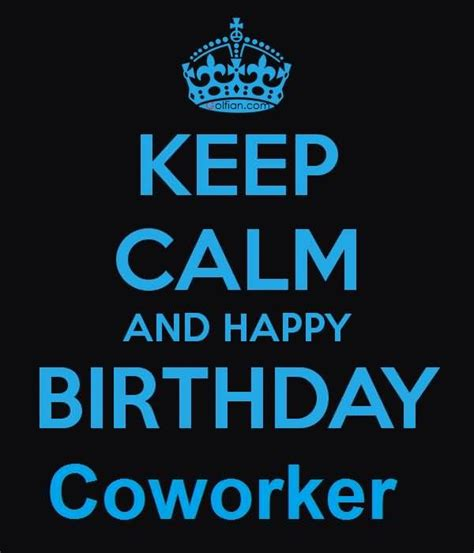 Happy Birthday Co Worker Card 60 Beautiful Birthday Wishes For Coworker Latest