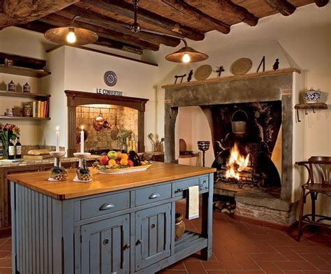 italian kitchens italian kitchen beautiful fireplace for the home