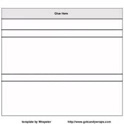 Free Bar Templates Printable by Wrappers Template Bestsellerbookdb