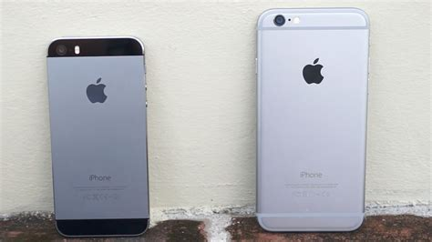 iphone 6 vs iphone 5s size does matter pocketnow