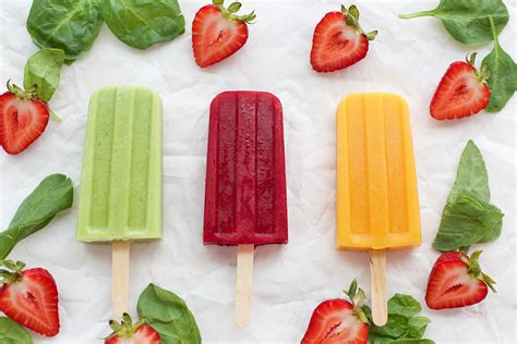 fruit juice popsicles 3 fruit and veggie popsicles healthy ideas for