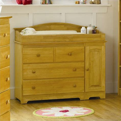 Atlantic Furniture Windsor 3 Drawer Changing Table In Maple Changing Table