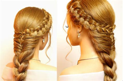 easy hairstyles with braids easy hairstyles for long hair cute braids tutorial youtube