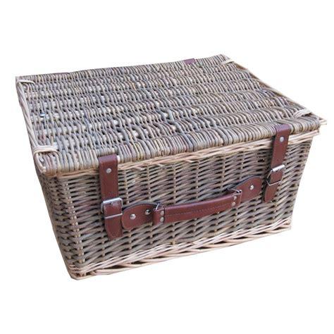 buy lakeland wicker storage trunk hamper basket