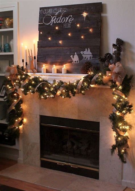 Garland For Fireplace With Lights by 25 Ultimate Mantel D 233 Cor Ideas Shelterness