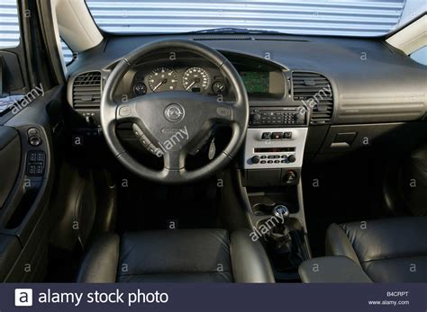 opel zafira interior car opel zafira 2 2 dti model year 2003 silver