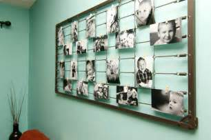 How To Decorate Wall At Home diy photography wall art from baby crib springs
