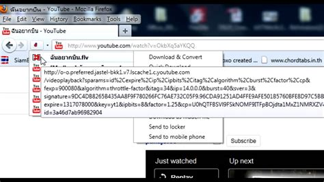 download youtube helper การdownload youtube ด วย add ons firefox download helper