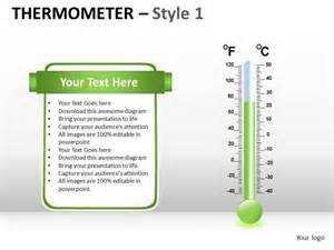 powerpoint thermometer template symbol thermometer 1 powerpoint slides and ppt template diagrams powerpoint templates