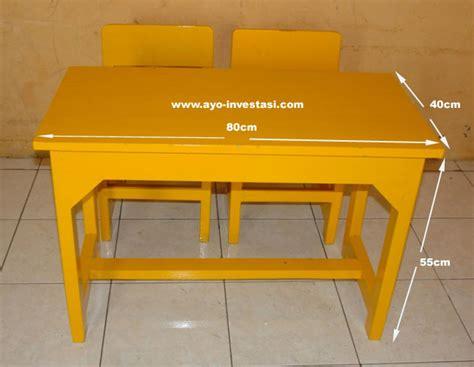 Kursi Kayu Tk meja tk taman kanak kanak