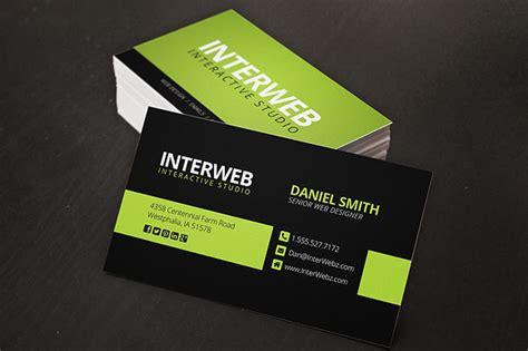 graphic designer visiting card design cdr file free 187 designtube creative design content