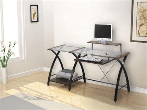 Z Line Brisa Desk by Z Line Designs Brisa Glass Wood Metal