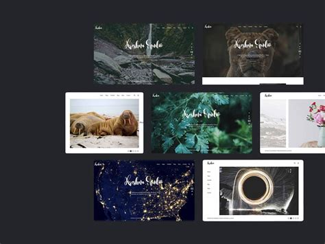 45 Beautiful Free Portfolio Psd Website Templates Utemplates Photography Portfolio Template