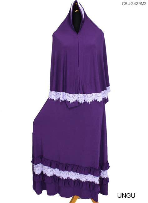 gamis bergo 1 set jersey gamis set jilbab jersey renda aira gamis muslim