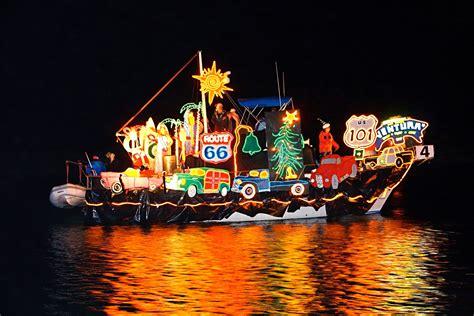 Parade Of Lights Santa Barbara by At The Ventura Harbor This Weekend Macaroni Kid