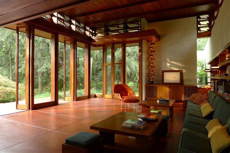 nj home design studio frank lloyd wright house saved archdaily