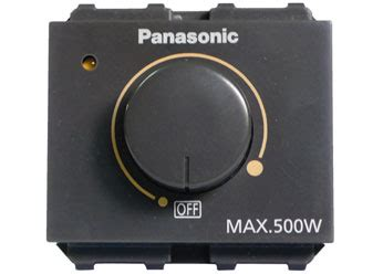Dimmer 500 Watt Wide Panasonic structsure builders construction and supply panasonic