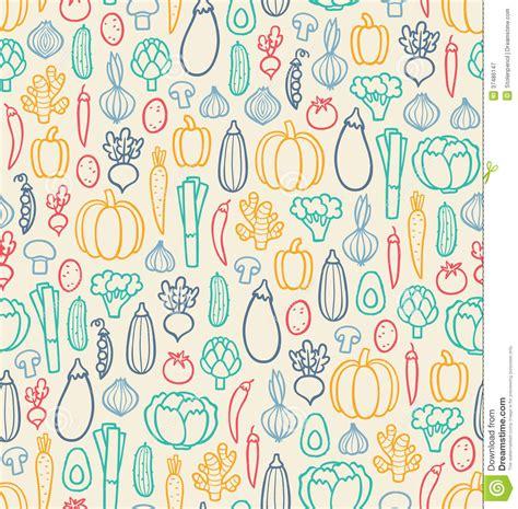 vegetables pattern wallpaper vintage vegetables pattern royalty free stock photography