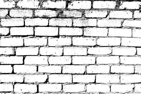 brick pattern drawing 10 white brick wall vector images black and white brick