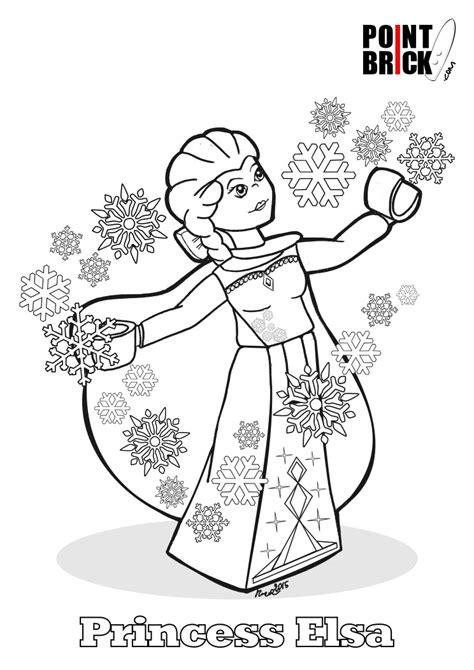 Disegni Da Colorare Lego Disney Princess Frozen Princess Lego Princess Coloring Pages Free Coloring Sheets