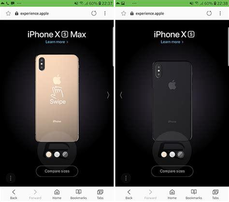 test drive iphone xs xs max  apples  interactive  model redmond pie