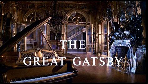 the gatsby mansion dreams are what le cinema is for the great gatsby 1974