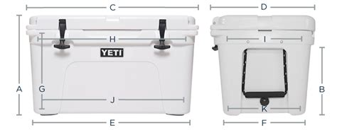 dimensions of a 35 quart yeti cooler yeti tundra 50