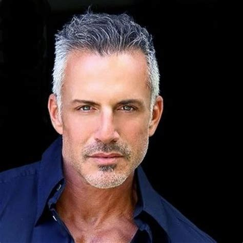 45 year old men s hairstyles 17 best ideas about silver foxes men on pinterest silver