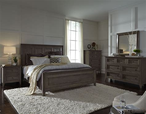 driftwood bedroom furniture talbot driftwood panel bedroom set from magnussen home